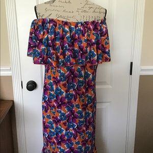 New LuLaRoe XL Cici dress